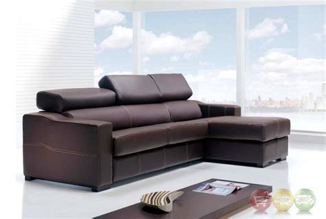 Sectional Sofa Sleeper With Storage by Lucas Brown Leather Sectional Sofa With Sleeper And Storage