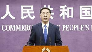 Chinese Ministry of Commerce talks trade friction and ...