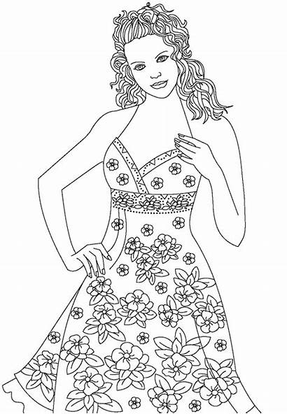 Coloring Pages Colouring Printable Models Books Adult
