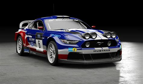 New Gran Turismo Mustang Rally Car Will Make Your Heart ...