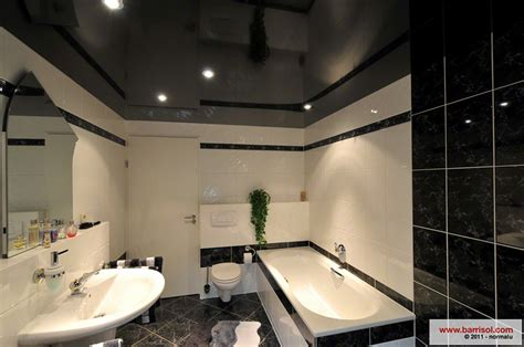 plafond tendu salle de bain salle de bain le plafond tendu barrisol dans votre salle de bain