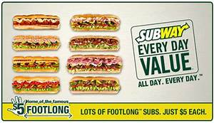 Subway Coupons printable codes | November 2019 ...