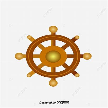 Pirate Wheel Ship Steering Clipart Photoshop Psd