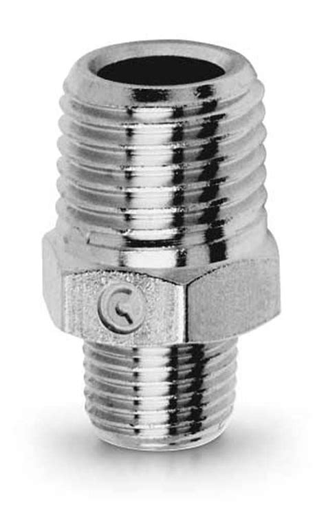 2510 Reducing Nipple - Taper Brass Pipe Fitting - Camozzi