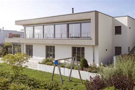 Modernes Haus by Modernes Haus Im Oberaargau Idealbau Ag Die Architekten