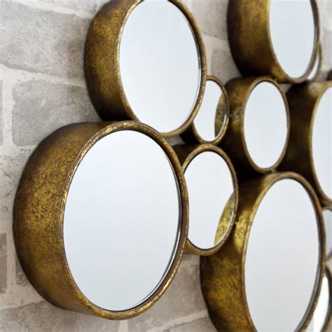 39 funky 39 circles mirror by decorative mirrors online notonthehighstreet com