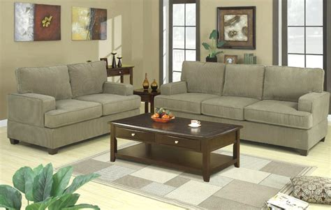corduroy sofa and loveseat corduroy fabric sofa and loveseat set couch love 7149 ebay