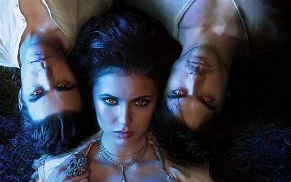 Vampire Diaries Damon Stefan Elena Halloween Wallpapers