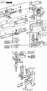 Bosch 11305 Parts List And Diagram