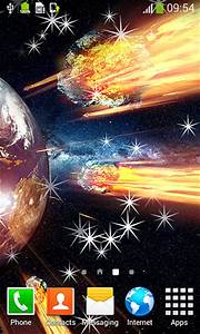 Asteroids live wallpaper for Android. Asteroids free ...