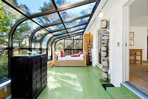 renovated sag harbor home   attached greenhouse