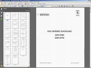 Ferrari 308 Gtb  Gts Wiring Diagrams
