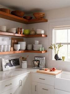 My dream home 10 open shelving ideas for the kitchen for Kitchen with open shelving