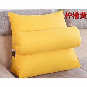 adjustable sofa bed chair rest neck support back wedge With back wedge pillow for chair