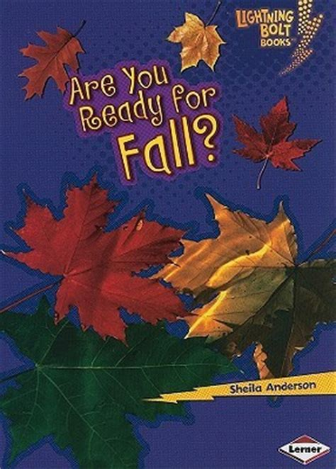 ready  fall lightning bolt books  sheila anderson reviews discussion