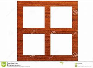 Square wooden frame stock photo. Image of background ...