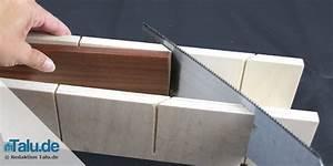 45 Grad Winkel Sägen : fu leisten richtig anbringen anleitung in 5 schritten ~ Lizthompson.info Haus und Dekorationen
