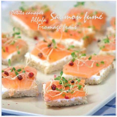 photos canap 233 saumon fum 233