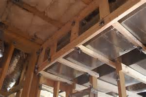 Framing around Ductwork Basement Ceiling