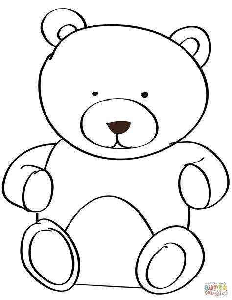 Kleurplaat Teddybeer by Teddy Coloring Page Free Printable Coloring Pages