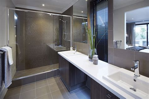 bathroom design perth romanic rustic charm in the macquarie display home
