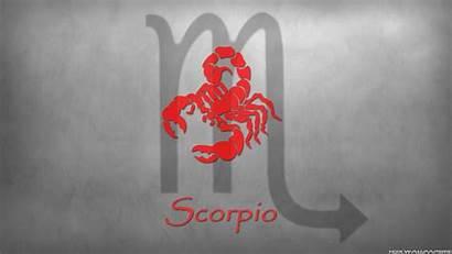 Scorpio Zodiac Sign Wallpapers Signs Background Desktop