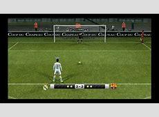 PES 2012 Penalty Shootout [Real Madrid vs Barcelona