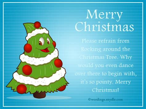 The best of all gifts around any christmas tree: Funny Christmas Messages and Funny Christmas Card Wordings - Wordings and Messages