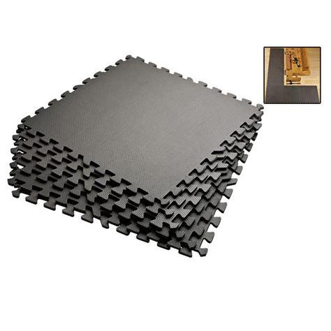 exercise floor mats grey 72 sqft anti fatigue exercise mats foam floor
