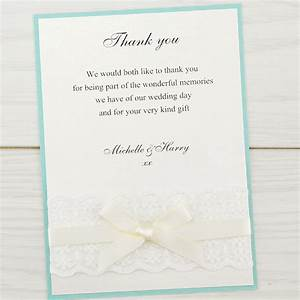 embroidered lace thank you card pure invitation wedding With lace wedding invitations cheap uk