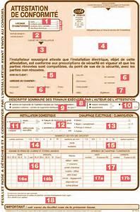 Attestation De Conformité Électrique Gratuit : consuel document d 39 attestation de conformit lamaisonboisdenous la maison en bois de mari ~ Melissatoandfro.com Idées de Décoration