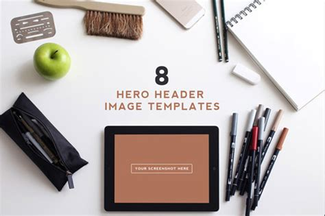 mockup templates  easy website hero images idevie