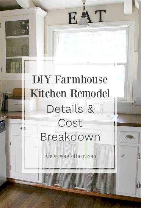 ranch  farmhouse fresh diy kitchen remodel details