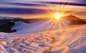 Nature, Landscapes, Mountains, Snow, Winter, Sky, Clouds, Hdr