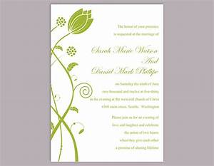 diy wedding invitation template editable word file instant With free editable wedding invitation templates for word