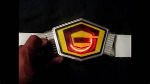 Gatchaman G-Force Battle of the Planets Rare Utility Belt ...