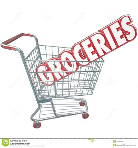 Groceries Shopping Cart Word Store Food Products Stock. Buy Cheap Posters. Wall Signs. Yeti Decals. Meaningful Lettering. Empyema Signs. Tongue Health Signs. Kannada Lettering. Defined Signs
