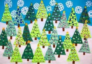 winter christmas tree bulletin board decoration myclassroomideas com
