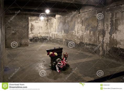 les chambre a gaz chambre à gaz d 39 auschwitz pologne photographie éditorial