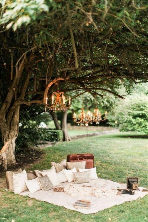 romantic outdoor picnic wedding ideas delightful
