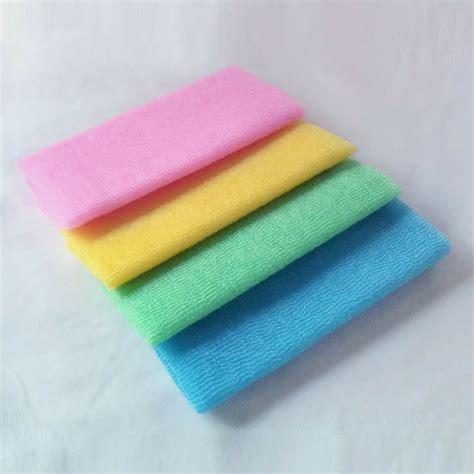 shower cloth 3 pack japanese exfoliating skin bath shower