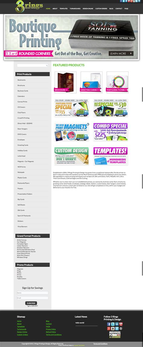Custom Wordpress Ecommerce Design  3 Rings Printing. Mortgage Rate For Investment Property. Student Loans For Single Mothers With Bad Credit. Best Marketing Business Schools. Enable Wireless Network Adapter. Dish Network Distant Networks. Georgetown Veterans Home Lecom Medical School. Parkway Physicians Vinton Lawyer Fees For Dui. Phoenix Chrysler Dealers Help With Foreclosure