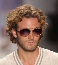 Blonde Curly Hair Hairstyles for Men