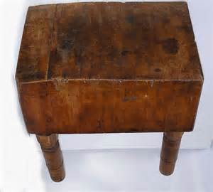 chopping block kitchen island an early 20th century maple butcher block on four turned