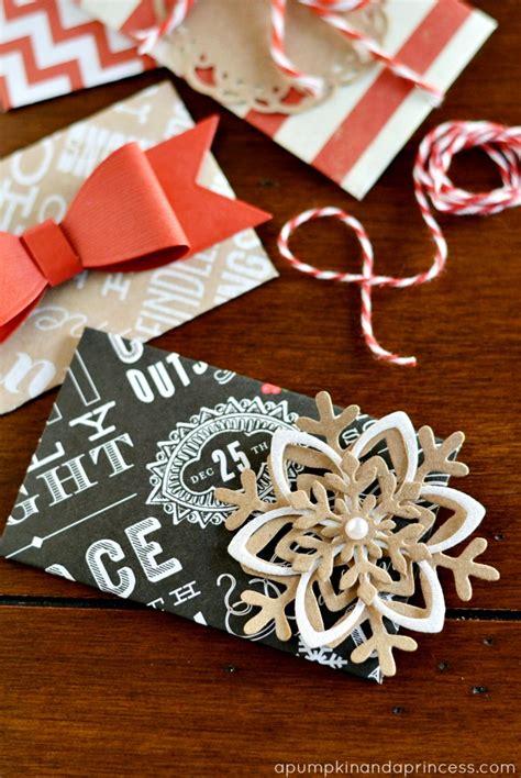 diy christmas gift card envelopes a pumpkin and a princess