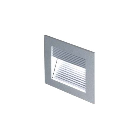 collingwood lighting wl050 led wall step light aluminium low voltage