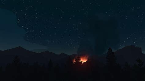 City At Night Wallpaper Firewatch Game Wallpaper 59151 1920x1080 Px Hdwallsource Com