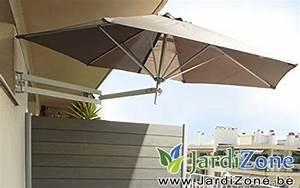 Parasol De Balcon Inclinable : parasol pour une petite terrasse jardizone ~ Premium-room.com Idées de Décoration