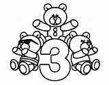 Coloring Number Pages Printable Three Sheets Bear Teddy Crayola Numbers Colouring Bears Bestcoloringpagesforkids Print Learn Colorful Popular Christmas Comments Coloringhome sketch template