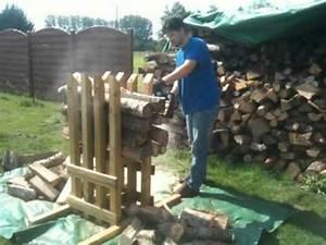Chevalet Coupe Bois : chevalet pour d biter du bois de chauffage en buche de 30 ~ Premium-room.com Idées de Décoration